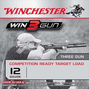 """Winchester Win3Gun 12 Gauge Ammunition 25 Rounds, 2.75"""", 1oz #7.5 shot"""