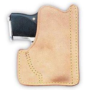 Galco Front Pocket Kel-Tec P32/P3AT Ambidextrous Leather Natural PH436