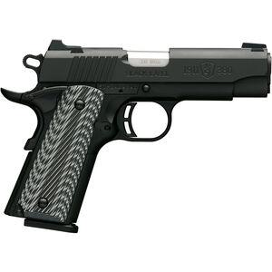"Browning 1911-380 Black Label Pro Compact with Night Sights .380 ACP Semi Auto Handgun 8 Rounds 3.625"" Barrel G10 Grips Matte Black"