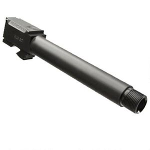 "SilencerCo Replacement GLOCK 26 9mm Luger Barrel Threaded 1/2""x28 Machined 416R Stainless Steel Nitride Finish Matte Black AC1329"