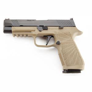 "Wilson Combat Sig P320 Full Size 9mm Semi Auto Pistol 4.7"" Barrel 17 Rounds Action Tuned Straight Trigger Tan"