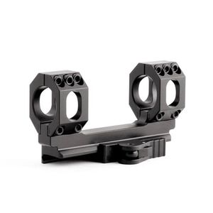 American Defense Mfg. Scout S 30mm Scope Mount with QD Lever 6061 T6 Aluminum Black AD-SCOUT-S-30