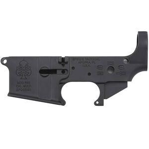 Spike's Tactical PHU Spade AR-15 Stripped Lower Receiver Multi Caliber Marked Aluminum Black