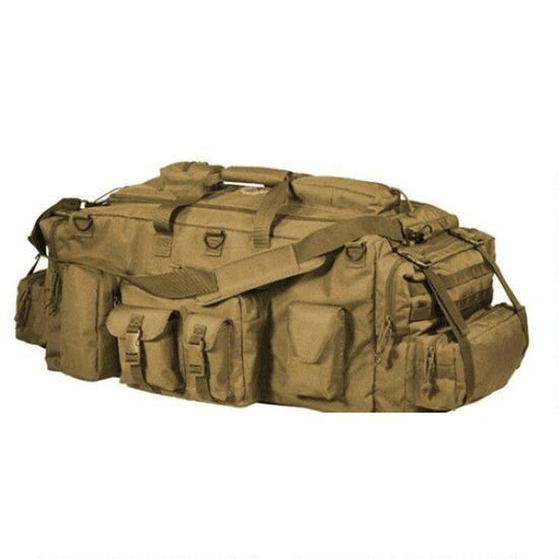 Voodoo Tactical Mojo Load Out-Bag With Backpack Straps Nylon Tan 15-9685007000