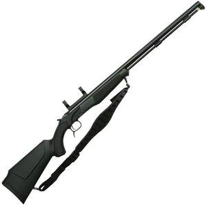 "CVA Accura PR Break Action Black Powder Rifle .50 Caliber 28"" Fluted Barrel Dead On Scope Mount Synthetic Stock Black Nitride Finish"