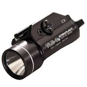 Streamlight TLR-1s Rail Mounted Tactical Light, C4 LED, Strobe, Black