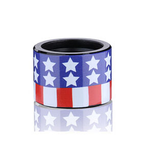 Backup Tactical Custom Thread Protectors 1/2x28 Right Hand American Flag Finish