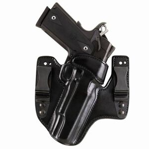 Galco V-Hawk SIG Sauer P220R Carry, P229R Inside Waistband Holster Right Hand Leather Black HWK250B