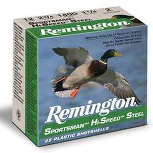 """Remington Sportsman 12 Ga 3.5"""" #2 Steel 1.375oz 25 rds"""