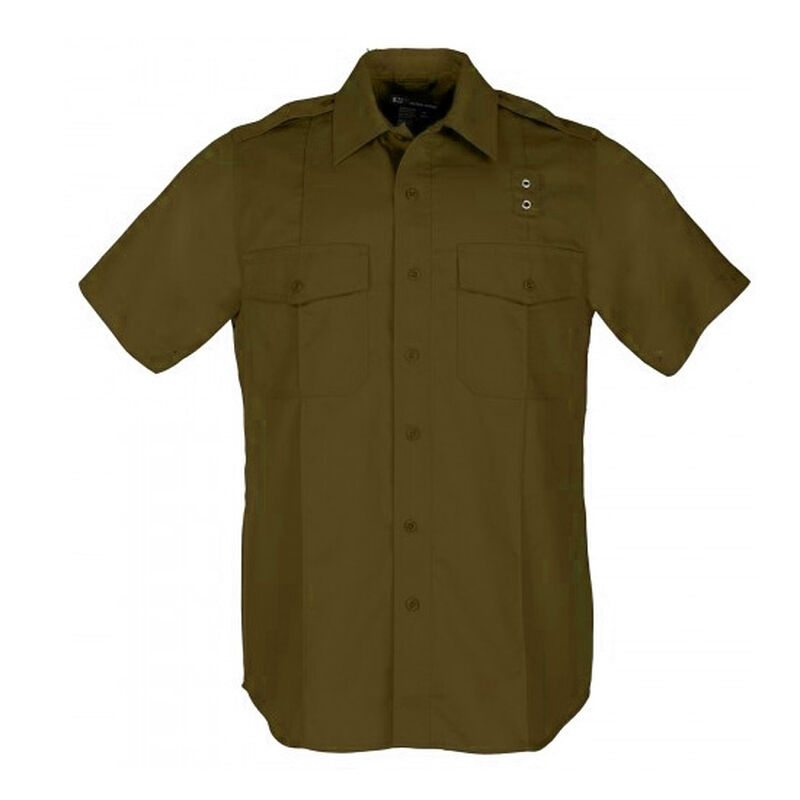 5.11 Tactical Taclite PDU Class A Short Sleeve Shirt Extra Large Regular Midnight Navy 71167