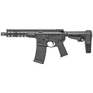 "Stag Arms Stag-15 5.56 NATO AR-15 Semi Auto Pistol 7.5"" Barrel 30 Capacity M-LOK Handguard SBA3 Pistol Brace Black"