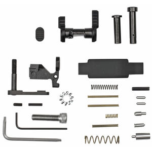 Armaspec AR-15 Lower Parts Kit without FCG and Grip Black
