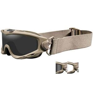 Wiley-X Spear Goggles Multiple Lens Medium-2XL Tan