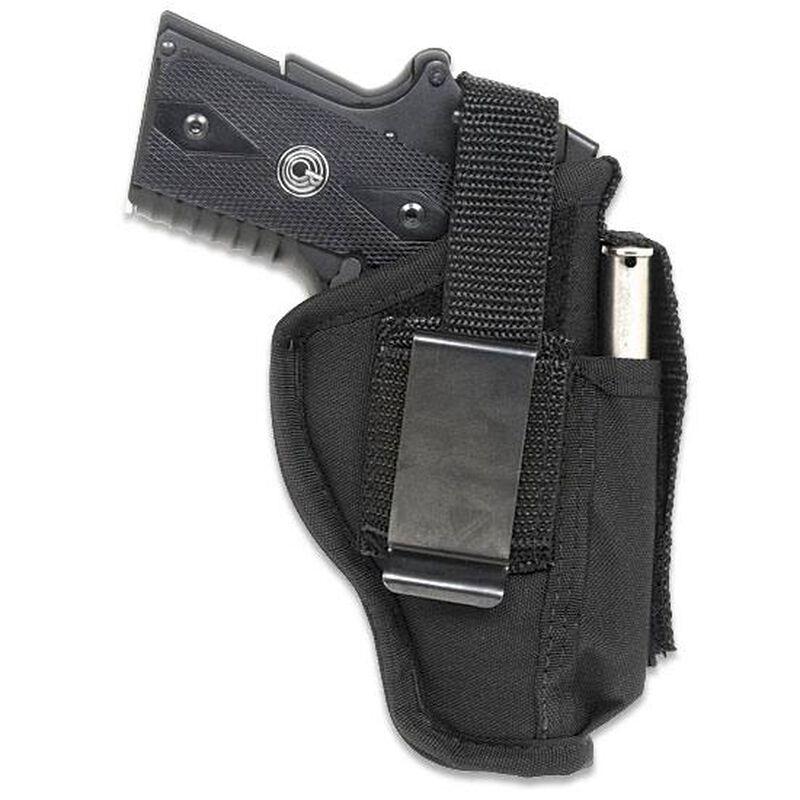 "GunMate Ambidextrous Hip Holster Medium-Frame Pistols 4"" Barrels Size 6 Black"