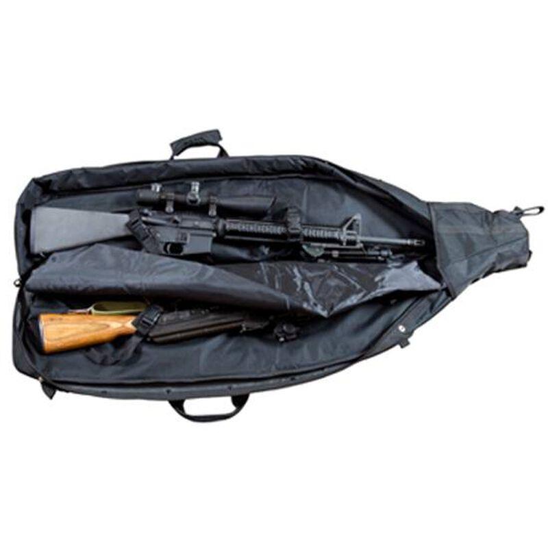 "NcSTAR Double Rifle Drag Bag Padded 45""x10""x4"" Shoulder Strap Nylon Digital Camo"