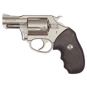 "Charter Arms Undercover Revolver .38 Special 2"" Barrel 5 Rounds Stainless Finish Black Rubber Grips 73820"