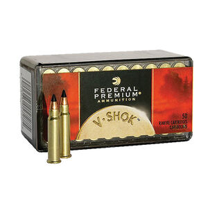 Federal V-Shok .17 HMR 17 Grain V-Shok 50 Round Box