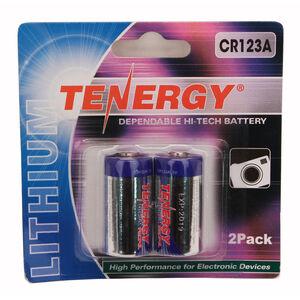 Tenergy CR123 2-Pack (Retail), Chrome