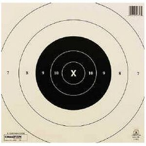 Champion NRA B-8(C) 25 Yard Rapid Fire Pistol Target
