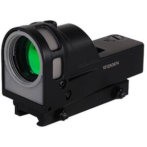 Meprolight M-21T Reflex Sight 1x3 12 MOA Triangle Reticle Quick Release Picatinny Mount Matte Black