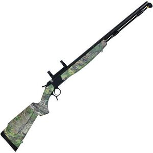 "CVA Optima V2 Nitride Barrel Break Action Black Powder Rifle .50 Caliber 26"" Barrel DuraSight Scope Mount RealTree Xtra Green Synthetic Stock Black Nitride Finish PR2023NM"