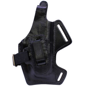 Front Line 5 Way HK P2000 Holster Leather Black