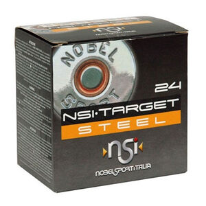 "NobelSport Target Steel 20 Gauge Ammunition 25 Rounds 2.75"" #7 Steel 1 oz 9400527"