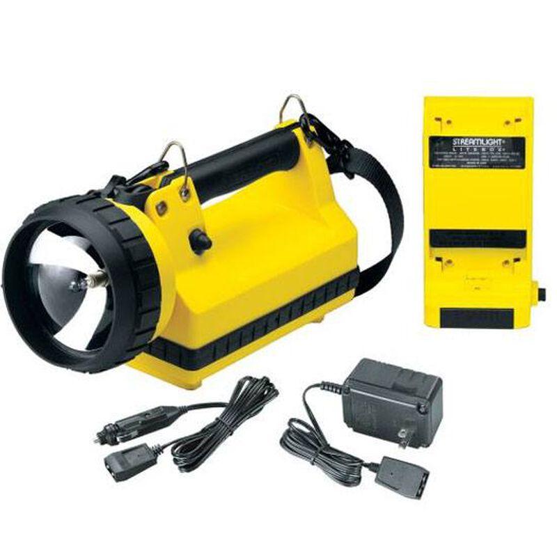 Streamlight Litebox Standard System Flashlight Thermoplastic 8/20 Watts Yellow