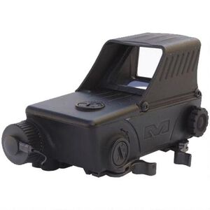 Mako Group Mepro Tru-Dot RDS Pro Red Dot Reflex Sight 1.8 MOA Dot Size QR Mount Aluminum Black Tru-Dot RDS
