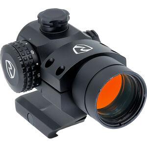 Riton Optics RT-R Mod 3 Rifle Red Dot, Aluminum, Illuminated Reticle, Cantilever Mount, Black Finish, CR2032