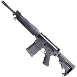 "Windham Weaponry SRC-308 Semi Auto Rifle .308 Winchester/7.62 NATO 16.5"" Barrel 20 Rounds Mid-Length Polymer Handguard 6 Position Collapsible Stock Black R16FTT-308"