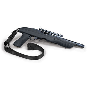 Tac-Hammer TK22C Ruger Charger Takedown Stock With Sling Polymer Black AT-02019