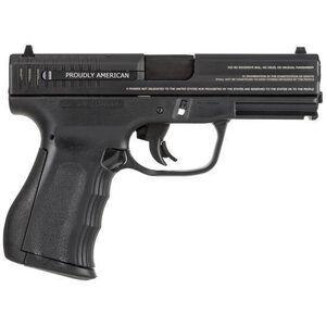 "FMK Firearms 9C1 Gen 2 Engraved 9mm Luger Semi Auto Pistol 4"" Barrel 14 Rounds Polymer Frame Black"