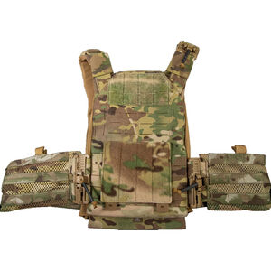 """Grey Ghost Gear SMC Plate Carrier Laminate 10""""x12"""" Plate Compatible MOLLE/PALS Webbing MultiCam"""