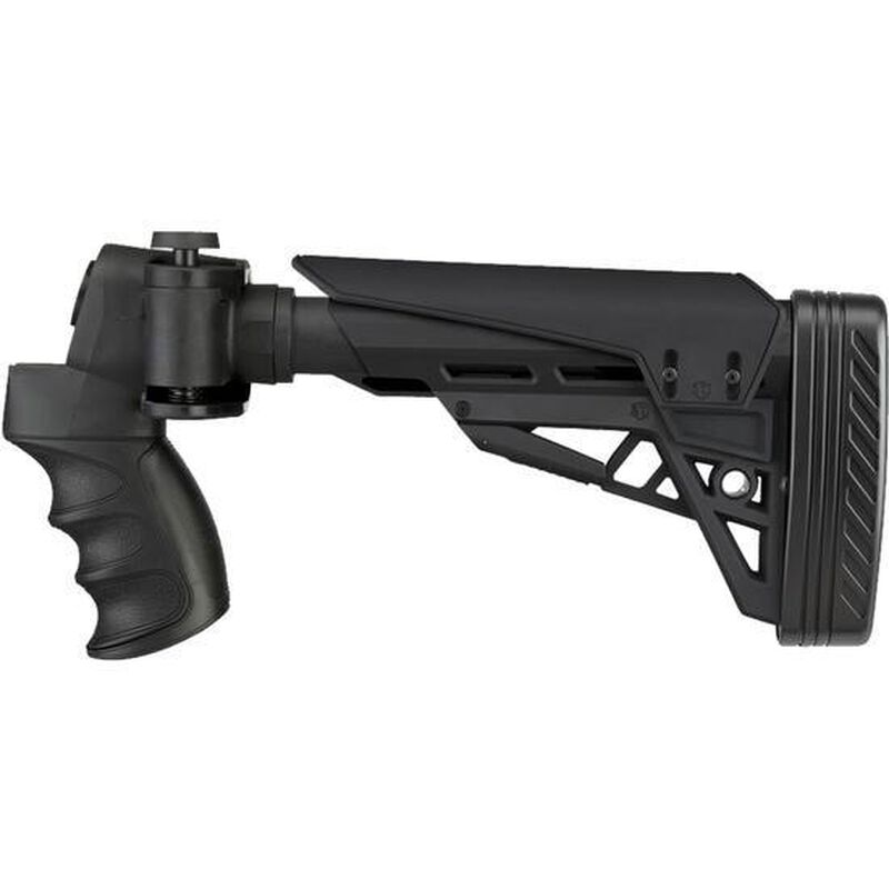 ATI Strikeforce Universal Side Folding 12 Gauge Shotgun Stock TacLite Stock/Recoil Reducing Grip/Buttpad Matte Black Finish