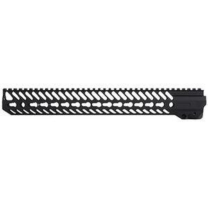 "Seekins Precision NOXS AR-15 Free Float Handguard 15"" KeyMod Aluminum Black 0010530047"