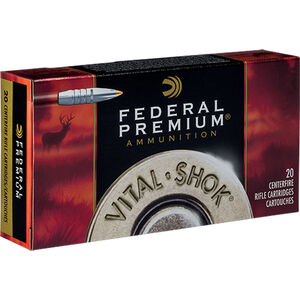 Federal .300 RUM Ammunition 20 Rounds Trophy Bonded PT Bullet 180 Grains