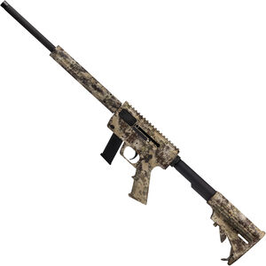 "Just Right Carbine Takedown Semi Auto Rifle 9mm Luger 17"" Barrel 17 Rounds Tube Style Forend Kryptek Highlander"