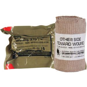 "North American Rescue Emergency Trauma Dressing 4"" Sterile Vacuum Sealed"