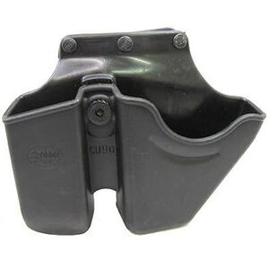 Fobus Double Stack Magazine and Handcuff Roto Belt Holder Polymer Black CU9GSBH
