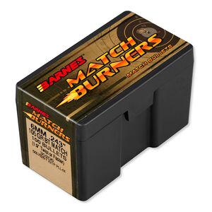 Barnes 6mm Caliber Bullet 100 Projectiles Match Burner 105 Grain