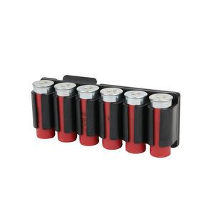 TacStar SideSaddle Shotshell Ammunition Carrier 12 Gauge Six Round Carrier For Benelli M4 Aluminum Matte Black 1081164