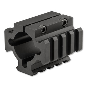 TacStar Shotgun Magazine Extension Three Rail Mount Aluminum Black