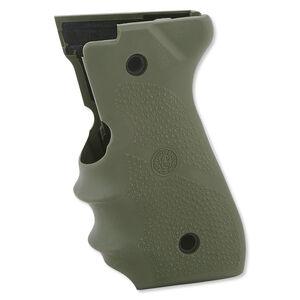 Hogue Monogrip Beretta 92/96 Rubber Cobblestone OD Green 92001
