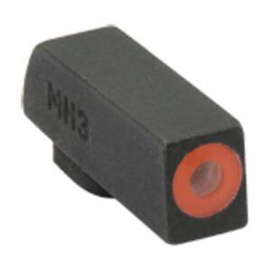 Meprolight Hyper-Bright Tritium Front Day and Night Sight Orange Ring for Kimber 1911 Pistols