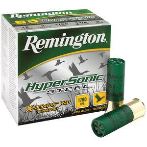 "Remington HyperSonic 12 Ga 3.5"" #2 Steel 1.375oz 250 rds"