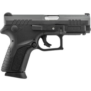"Grand Power Q1S Mk12 9mm Luger Semi Auto Pistol 3.3"" Barrel 12 Rounds Striker Fired Polymer Frame Black Finish"