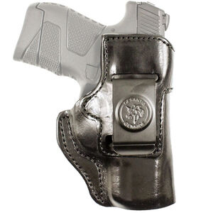 DeSantis Inside Heat Holster IWB for Ruger Security 9C Right Hand Leather Black