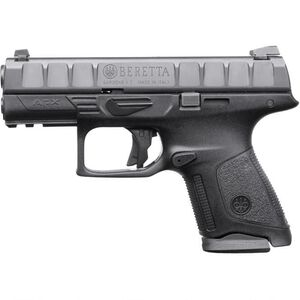 "Beretta APX Compact 9mm Luger Semi Auto Pistol 3.7"" Barrel 10 Rounds Polymer Frame Black"
