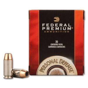Federal .40 S&W 165 Grain Hydra-Shok JHP 20 Round Box